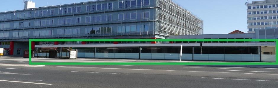 Wilhelmshafen-Fensterfront